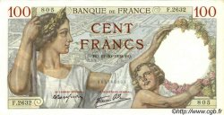 100 Francs SULLY FRANCE  1939 F.26.10 pr.NEUF