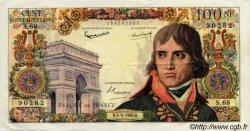 100 Nouveaux Francs BONAPARTE FRANCE  1959 F.59 TTB+