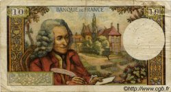 10 Francs VOLTAIRE FRANCE  1963 F.62 B
