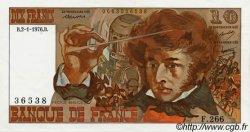 10 Francs BERLIOZ FRANCE  1972 F.63 SUP