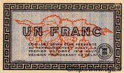 1 Franc FRANCE régionalisme et divers Béziers 1914 JP.027.08 NEUF