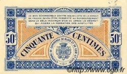 50 Centimes FRANCE régionalisme et divers BLOIS 1918 JP.028.09 NEUF