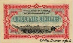 50 Centimes FRANCE régionalisme et divers COGNAC 1916 JP.049.01 NEUF