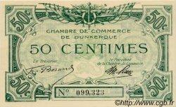 50 Centimes FRANCE régionalisme et divers DUNKERQUE 1918 JP.054.01 NEUF
