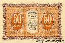 50 Centimes FRANCE régionalisme et divers Gray et Vesoul 1915 JP.062.01 NEUF