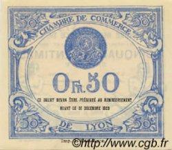 50 Centimes FRANCE régionalisme et divers Lyon 1920 JP.077.22 NEUF