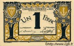 1 Franc FRANCE régionalisme et divers NICE 1917 JP.091.05 NEUF
