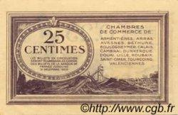 25 Centimes FRANCE régionalisme et divers Nord et Pas-De-Calais 1918 JP.094.03 NEUF