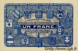 1 Franc FRANCE régionalisme et divers Nord et Pas-De-Calais 1918 JP.094.07 NEUF