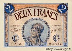 2 Francs FRANCE régionalisme et divers PARIS 1920 JP.097.28 NEUF