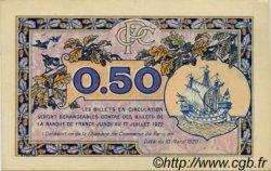 50 Centimes FRANCE régionalisme et divers Paris 1920 JP.097.31 NEUF
