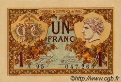 1 Franc FRANCE régionalisme et divers PARIS 1920 JP.097.36 NEUF