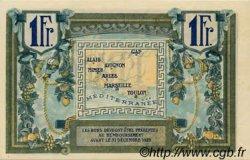 1 Franc FRANCE régionalisme et divers Alais, Arles, Avignon, Gap, Marseille, Nîmes, Toulon 1918 JP.102.04 NEUF