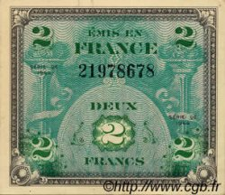 2 Francs DRAPEAU FRANCE  1944 VF.16.01 SPL
