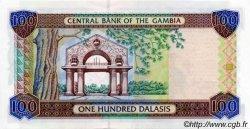 100 Dalasis GAMBIE  2001 P.24a NEUF
