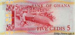 5 Cedis GHANA  1980 P.19b NEUF