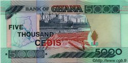5000 Cedis GHANA  2000 P.34e NEUF