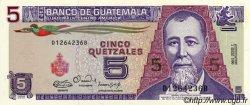 5 Quetzales GUATEMALA  1900 P.074 NEUF