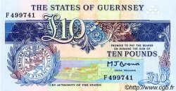 10 Pounds GUERNESEY  1995 P.54a NEUF