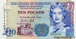 10 Pounds GUERNESEY  1995 P.57b pr.NEUF