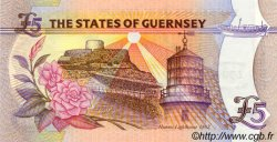 5 Pounds GUERNESEY  2000 P.60 NEUF
