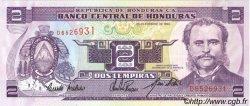 2 Lempiras HONDURAS  1994 P.072 NEUF