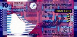 10 Dollars HONG KONG  2002 P.400 NEUF