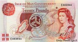 20 Pounds ÎLE DE MAN  2000 P.45a NEUF