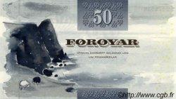 50 Krónur ÎLES FEROE  2001 P.24 NEUF