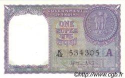 1 Rupee INDE  1957 P.075b pr.SPL
