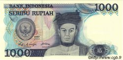 1000 Rupiah INDONÉSIE  1987 P.124a NEUF