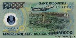 50000 Rupiah INDONÉSIE  1993 P.134a NEUF