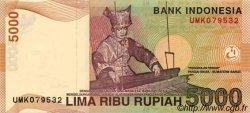 5000 Rupiah INDONÉSIE  2001 P.142c NEUF