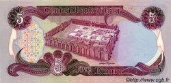5 Dinars IRAK  1982 P.070a pr.NEUF