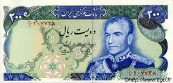 200 Rials IRAN  1970 P.103d NEUF