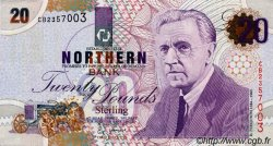 20 Pounds IRLANDE DU NORD  1997 P.199 NEUF