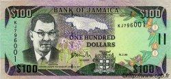 100 Dollars JAMAÏQUE  1998 P.76b NEUF