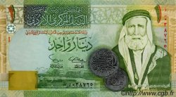 1 Dinar JORDANIE  2002 P.34 NEUF