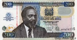 200 Shillings KENYA  2003 P.46 NEUF
