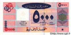 5000 Livres LIBAN  2001 P.79 NEUF