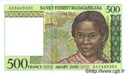 500 Francs / 100 Ariary MADAGASCAR  1994 P.75 NEUF