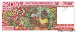 25000 Francs MADAGASCAR  1998 P.82 NEUF