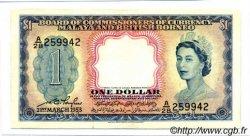 1 Dollar MALAISIE et BORNEO  1953 P.01a NEUF