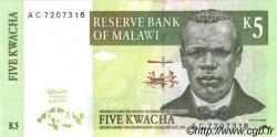 5 Kwacha MALAWI  1997 P.36a pr.NEUF