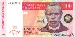 100 Kwacha MALAWI  1997 P.40 pr.NEUF
