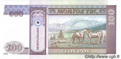 100 Tugrik MONGOLIE  1994 P.57 NEUF