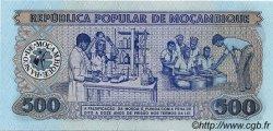 500 Meticais MOZAMBIQUE  1983 P.131 NEUF