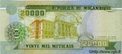 20000 Meticais MOZAMBIQUE  1999 P.140 NEUF