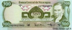 500 Cordobas NICARAGUA  1987 P.144 NEUF