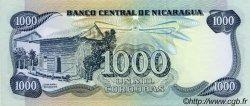 1000 Cordobas NICARAGUA  1987 P.145a NEUF